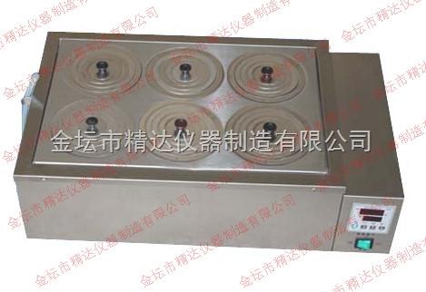 二,hh-6b不锈钢恒温水浴锅结构及工作原理 ●本系列水浴锅的水槽外