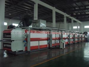 供应灵武市聚氨酯板材生产线 聚氨酯高压发泡机