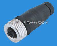 YG-12-I-4B-04 M12傳感器連接器-孔式直頭