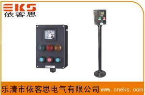 FZC-S-A2D2G挂式防水防尘防腐操作柱,FZC-S-A2D2L立式三防操作柱,10A,380V,IP65产品图片