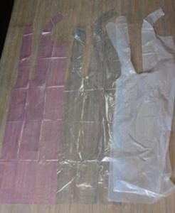 一次性PE围裙 产品图片